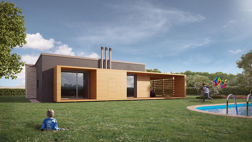 Progetto my house case in x lamstudio di architettura for Case di architettura spagnola
