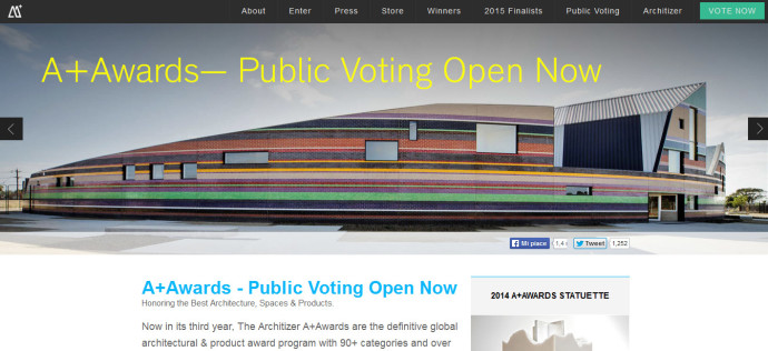 A+ AWARDS ARCHITIZER